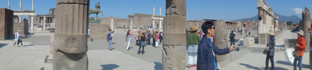 Pompeii Tourists